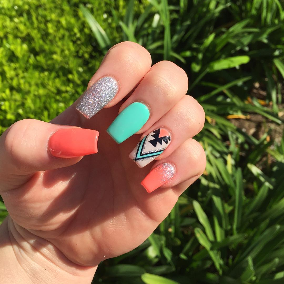 Cute-Summer-Acrylic-Nails-Art